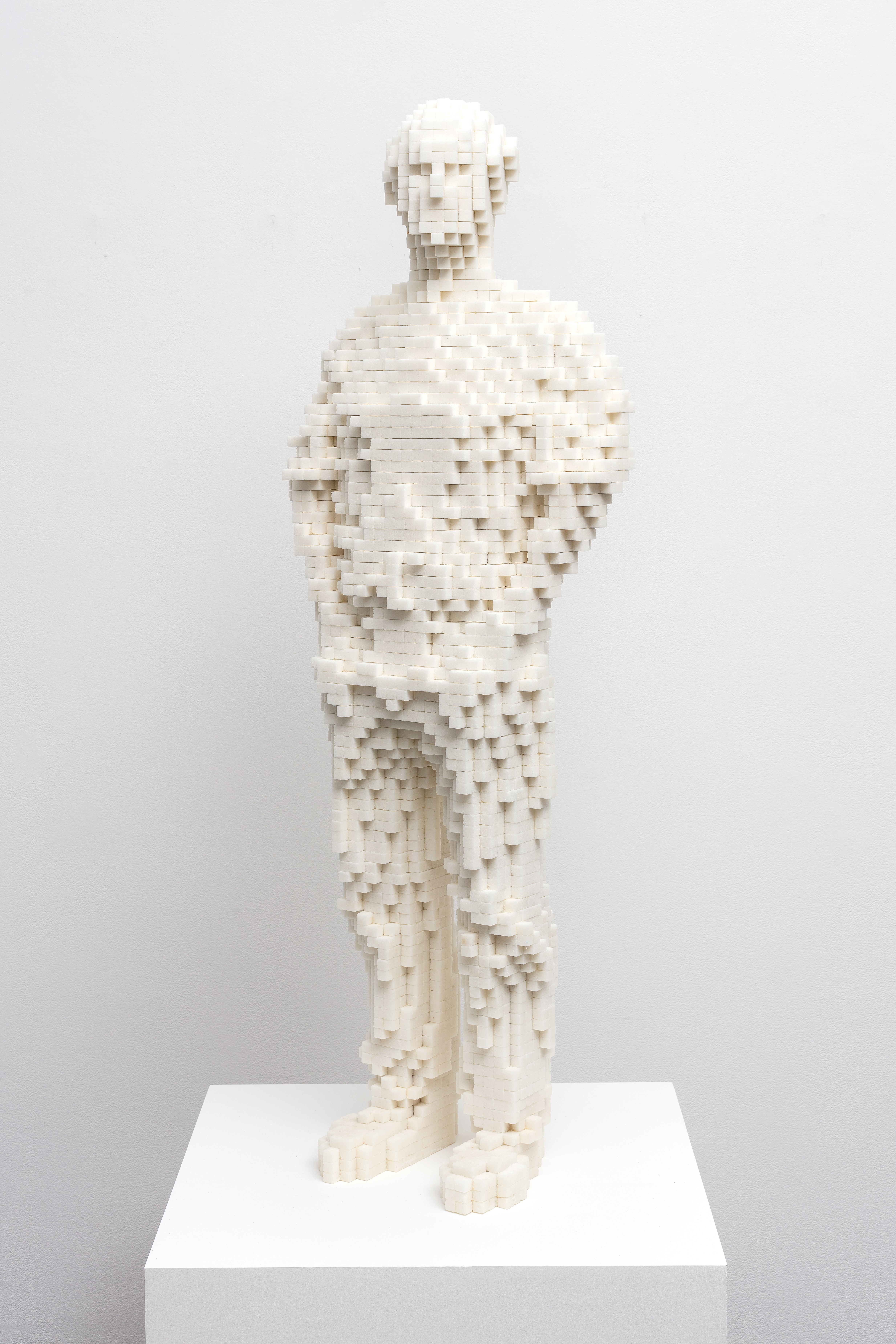LAM museum acquires Tom Friedman's self-portrait in sugar cubes