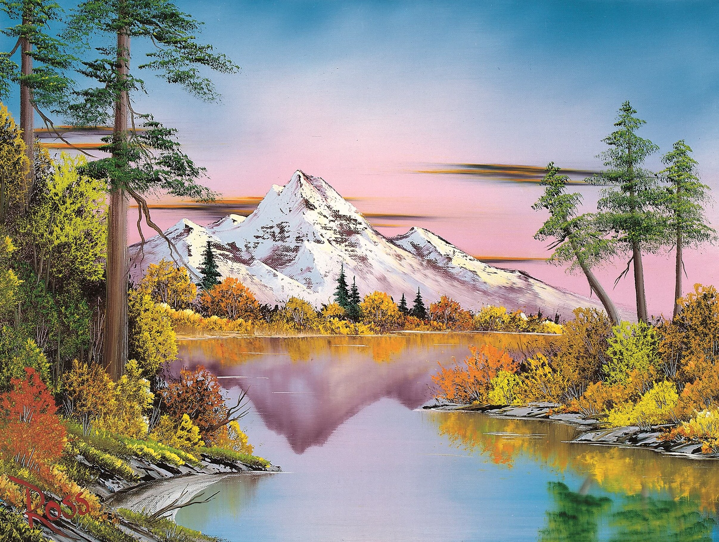 What mistakes? Bob Ross in Museum MORE